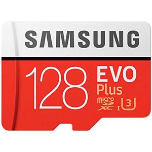 Samsung 128GB Evo Plus Micro SDXC TF Card UHS-I U3 + Adapter - 100MB/s New