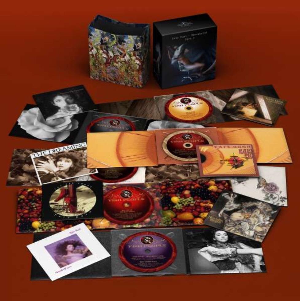 Kate Bush: Remastered Part I auf 7 CDs [amazonUK]