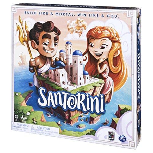 """""""Santorini"""" (Spin Master Games) – Gesellschaftsspiel / Brettspiel für zwei Personen"""