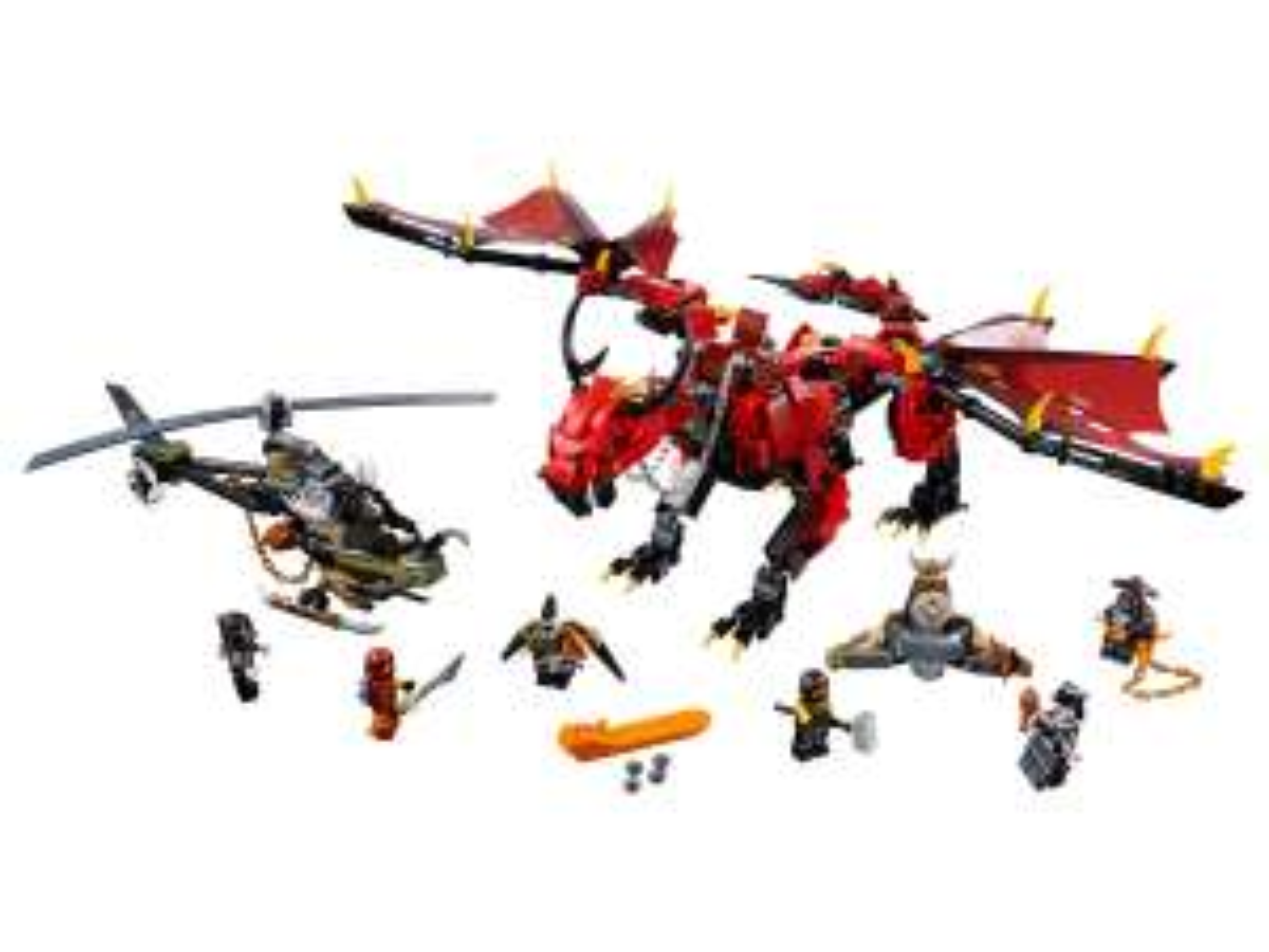 LEGO® Ninjago 70653 Mutter der Drachen Amazon UK 37,87 Euro