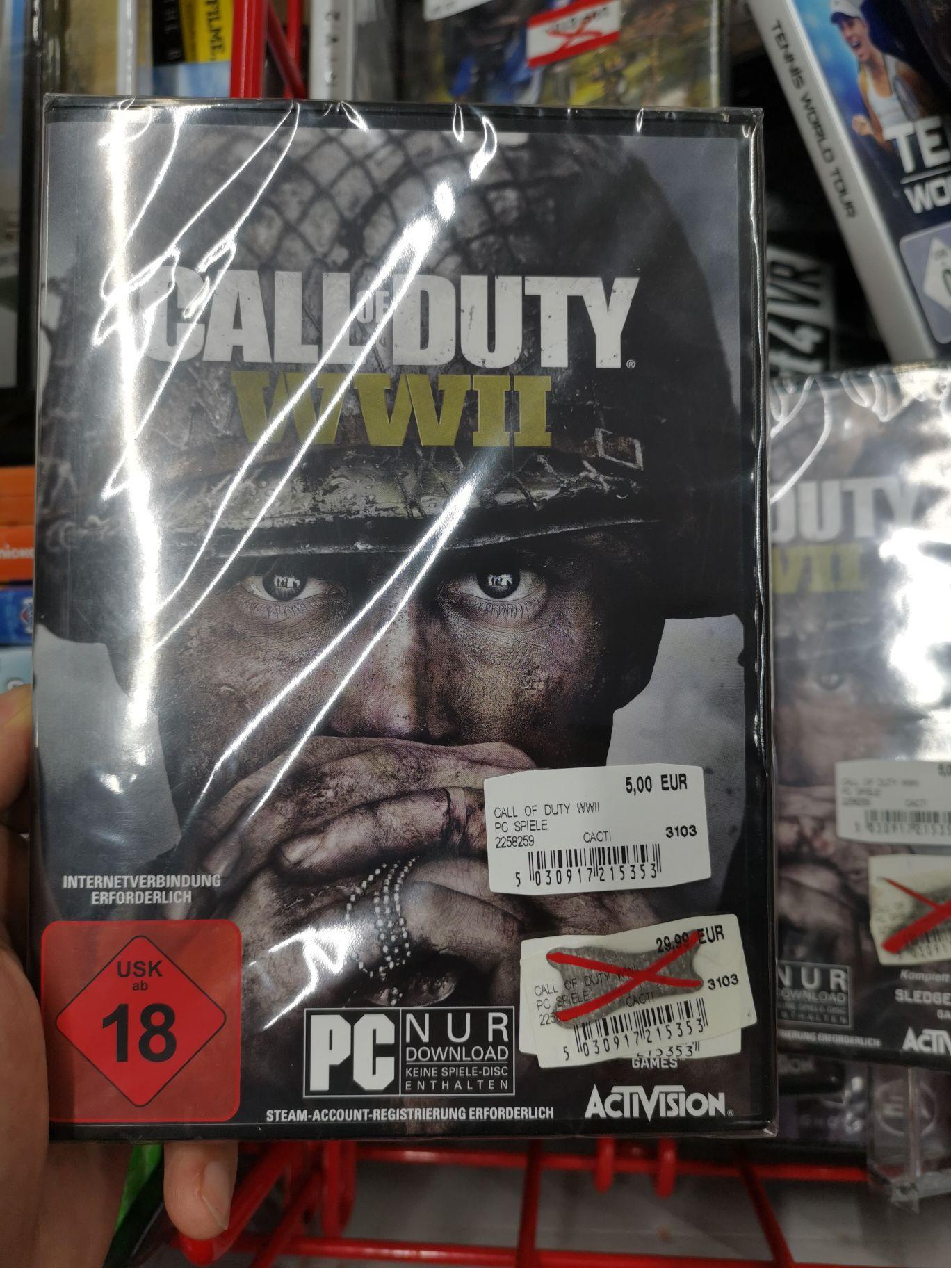 Lokal Call of Duty WWII (PC) Media Markt Berlin Charlottenburg