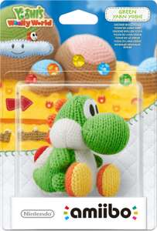 Nintendo amiibo Figur Woll-Yoshi (Grün/Wolly World) für 11,99€ (Müller)