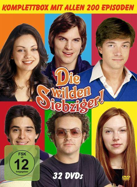 Die wilden Siebziger! Komplettbox (32 Discs DVD) für 17,97€ (Amazon Prime)