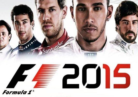 F1 2015 für 1 Cent (Steam-Key, multilingual)