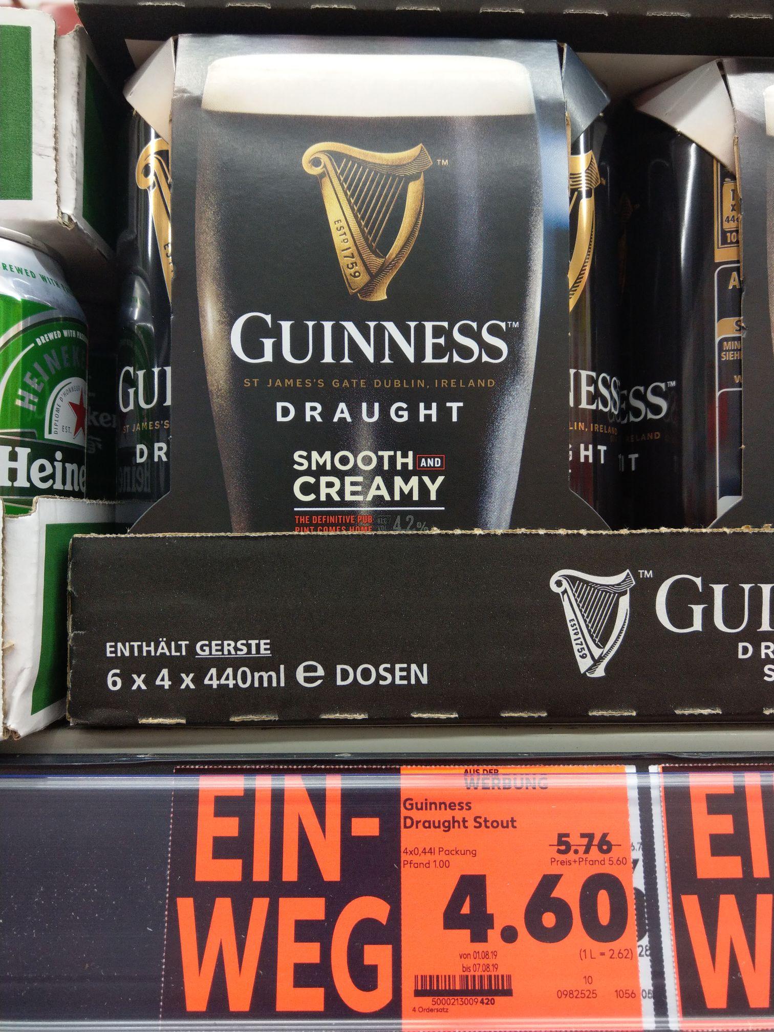 Guinness draught stout 4er pack