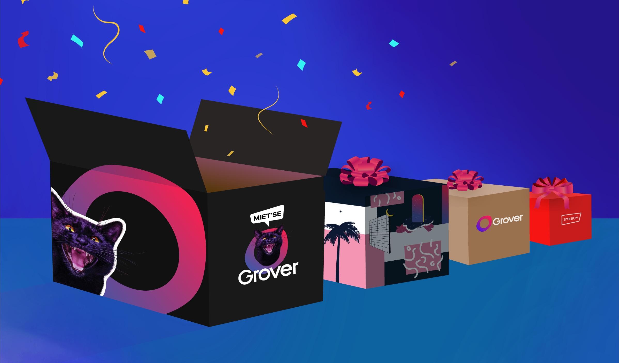 Hardware Vermietung - Grover.com - 25€ Rabatt ab einem MBW von 30€