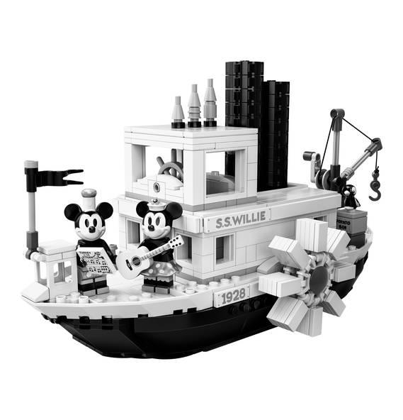 LEGO Steamboat Willie 21317 mit Liebe um 76,49