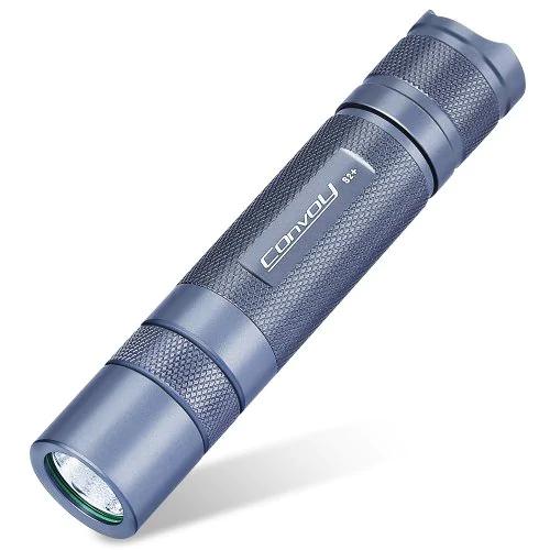 Convoy S2+ Taschenlampe, neue Version, 1800 Lumen, Luminus SST40 LED