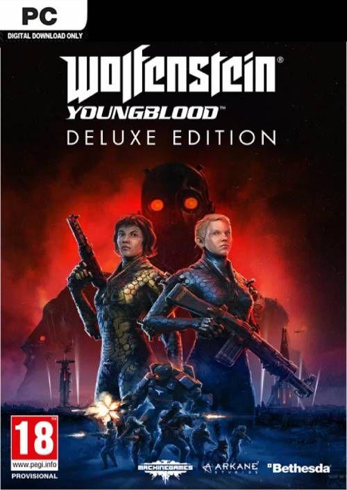 Wolfenstein: Youngblood Deluxe Edition (PC) für 14,29€ (CDkeys)