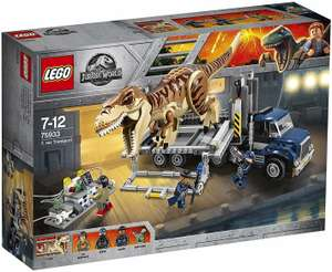 Lego Jurassic World 75933 T-Rex Amazon UK