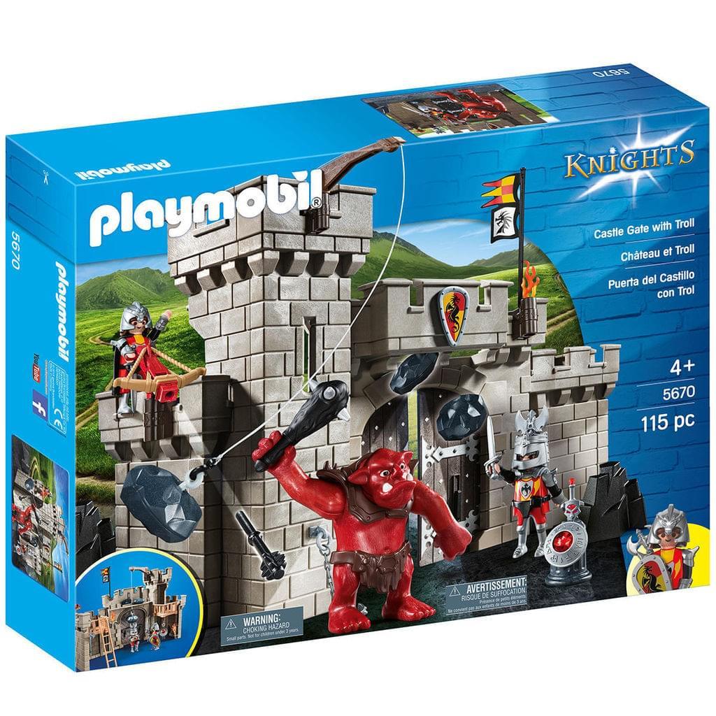 Playmobil Knights - Burgtor mit Troll (5670) *versandkostenfrei* [Real.de]