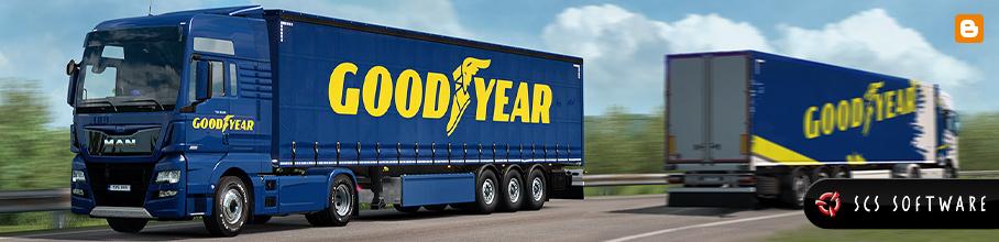 Euro Truck Simulator 2 Event: Goodyear Roll-Out! gratis Inhalte