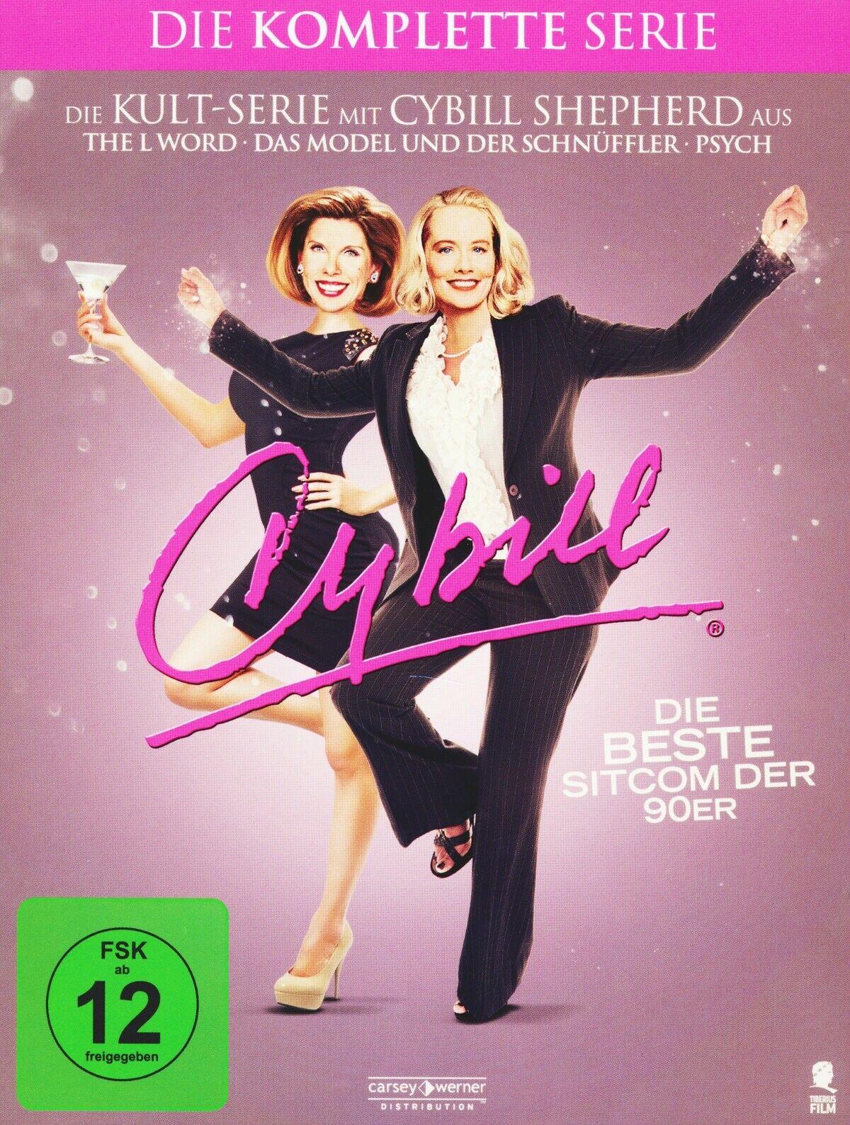 Cybill - Die Komplettbox (15 DVDs) für 16,97€ (Amazon Prime)