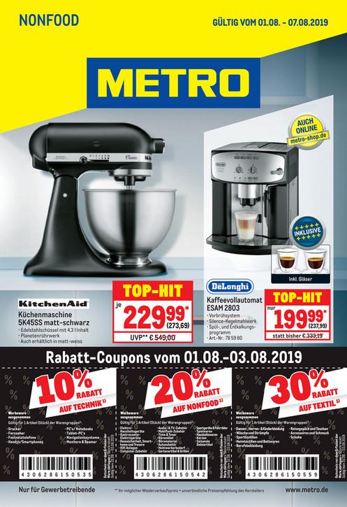 Metro Dyson V10 Absolut mit 20% Nachlass = 437 Euro