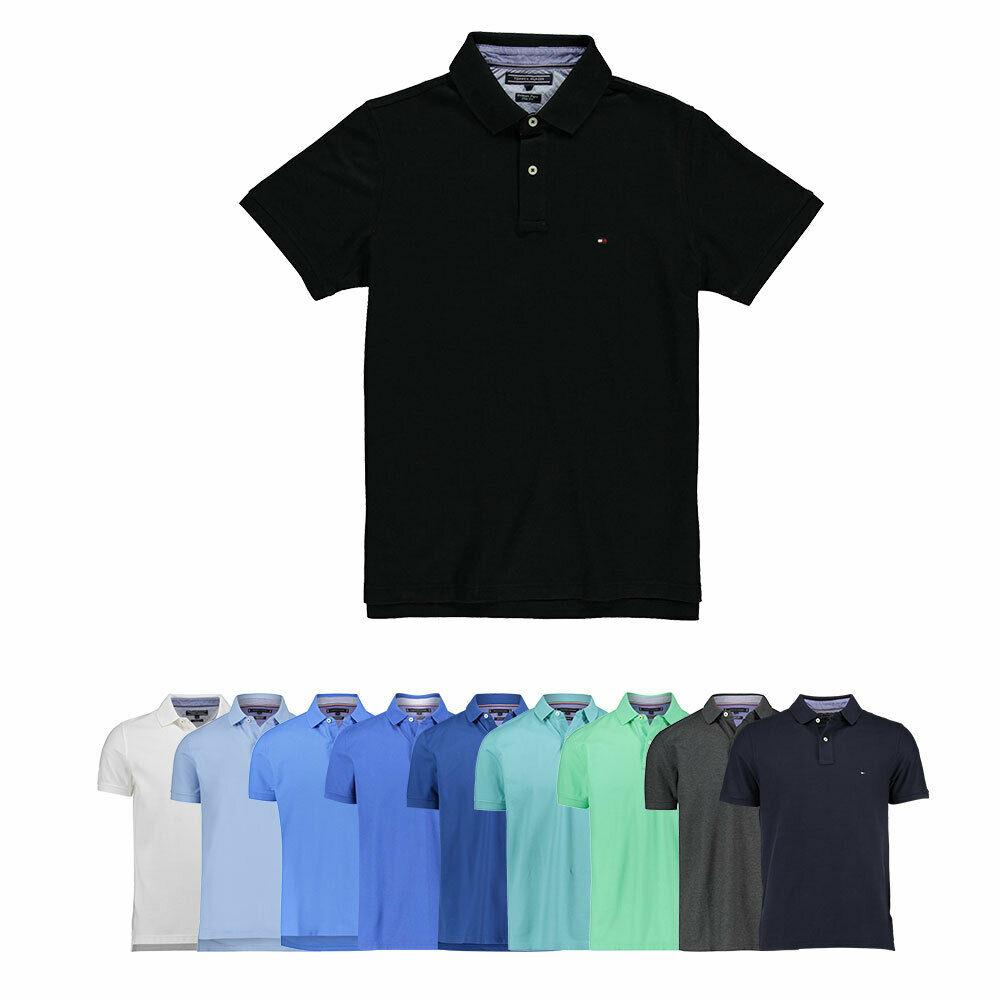 [Engelhorn] Tommy Hilfiger Herren Poloshirt Regular Fit & Slim Fit