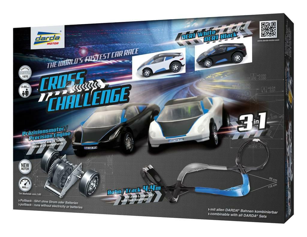 Darda Cross Challenge Rennbahn mit 2 Autos