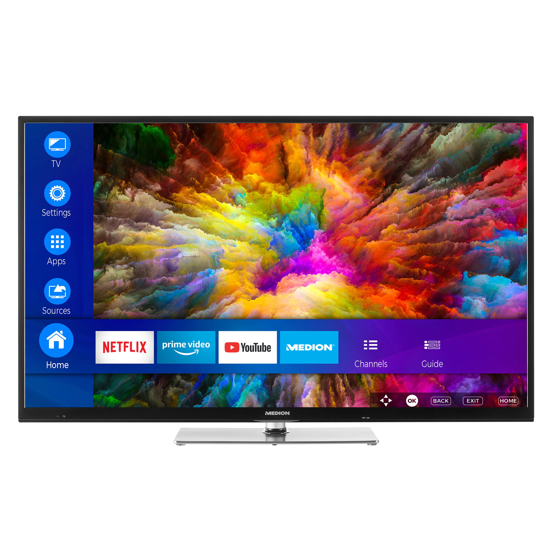 "MEDION® LIFE® P17127 Smart-TV, 108 cm (42,5"") LED-Backlight, Full HD, HD Triple Tuner, Wlan, 600 MPI, AVS, Wireless Display"