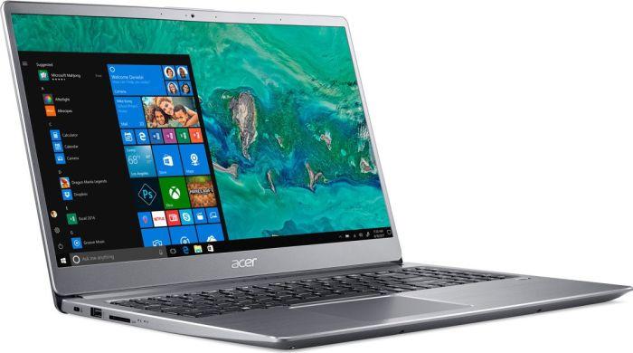 """Acer Swift 3 - 15,6"""" UHD IPS Notebook (i7-8550U, 8GB DDR4, 512GB SSD, USB-C, 48Wh, 1.8kg, Win10, Tastaturbel., non-glare) silber"""