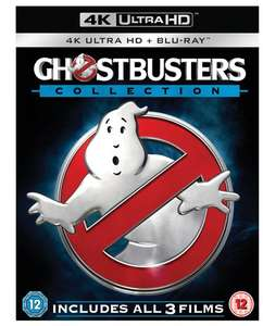 [Zoom.co.uk] Tagesdeal - Ghostbusters 4K Collection oder Star Trek Abrams Collection 4K Bluray
