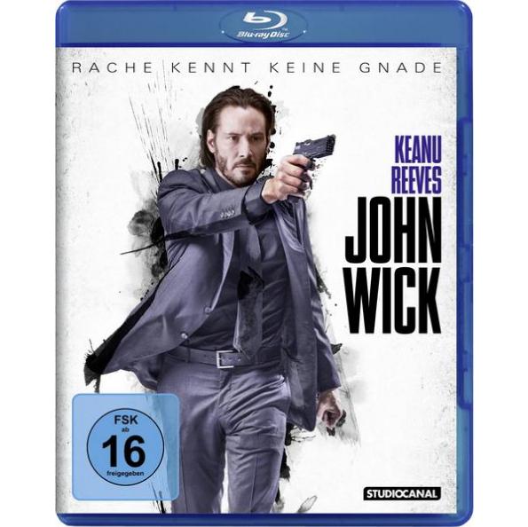 John Wick (Blu-ray) für 5,55€ (Media Markt)