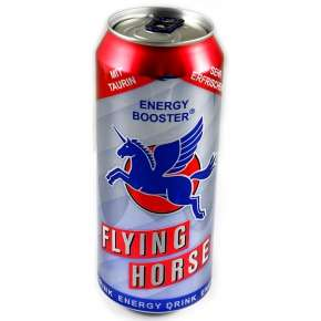 24 x 500ml Flying Horse Dosen (1,57 € / Dose)
