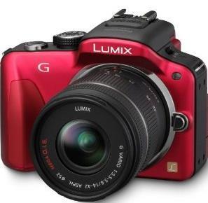 "Panasonic Lumix DMC-G3 Systemkamera ""EVIL"" inkl. Lumix G Vario 14-42mm + Panasonic 50 € CASHBACK!"