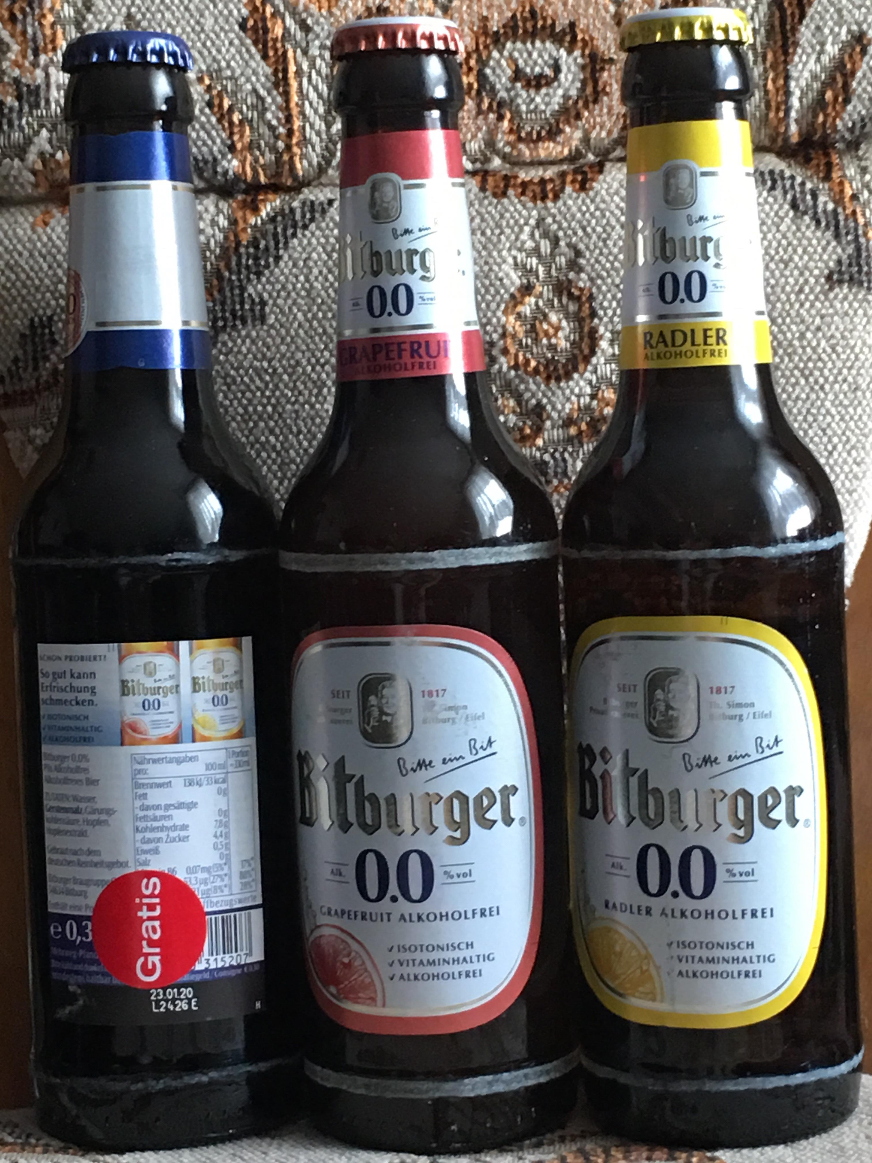 (Lokal Magdeburg) 3 Gratis Flaschen Bitburger Alkoholfrei 0,33