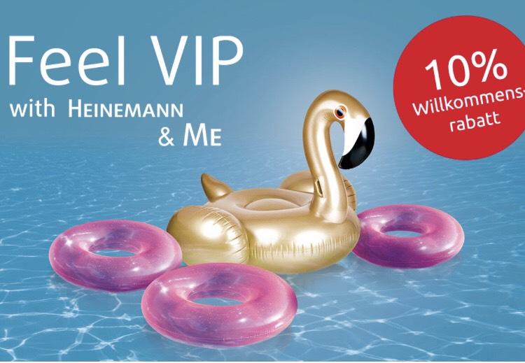 Heinemann - 10% Willkommensrabatt für den Einkauf am Flughafen oder in der App