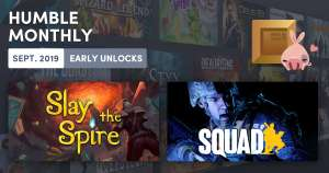 Squad + Slay the Spire (Steam) im Humble Monthly
