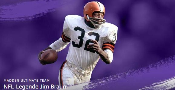 [Twitch Prime] Jim Brown für Madden NFL 20