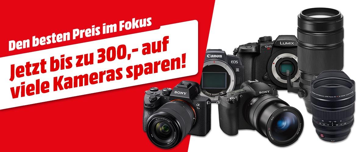 Bis zu 300€ auf Kameras / Objektive sparen - z.B. Alpha 7 Mark III für 1779€ VGP 1940€