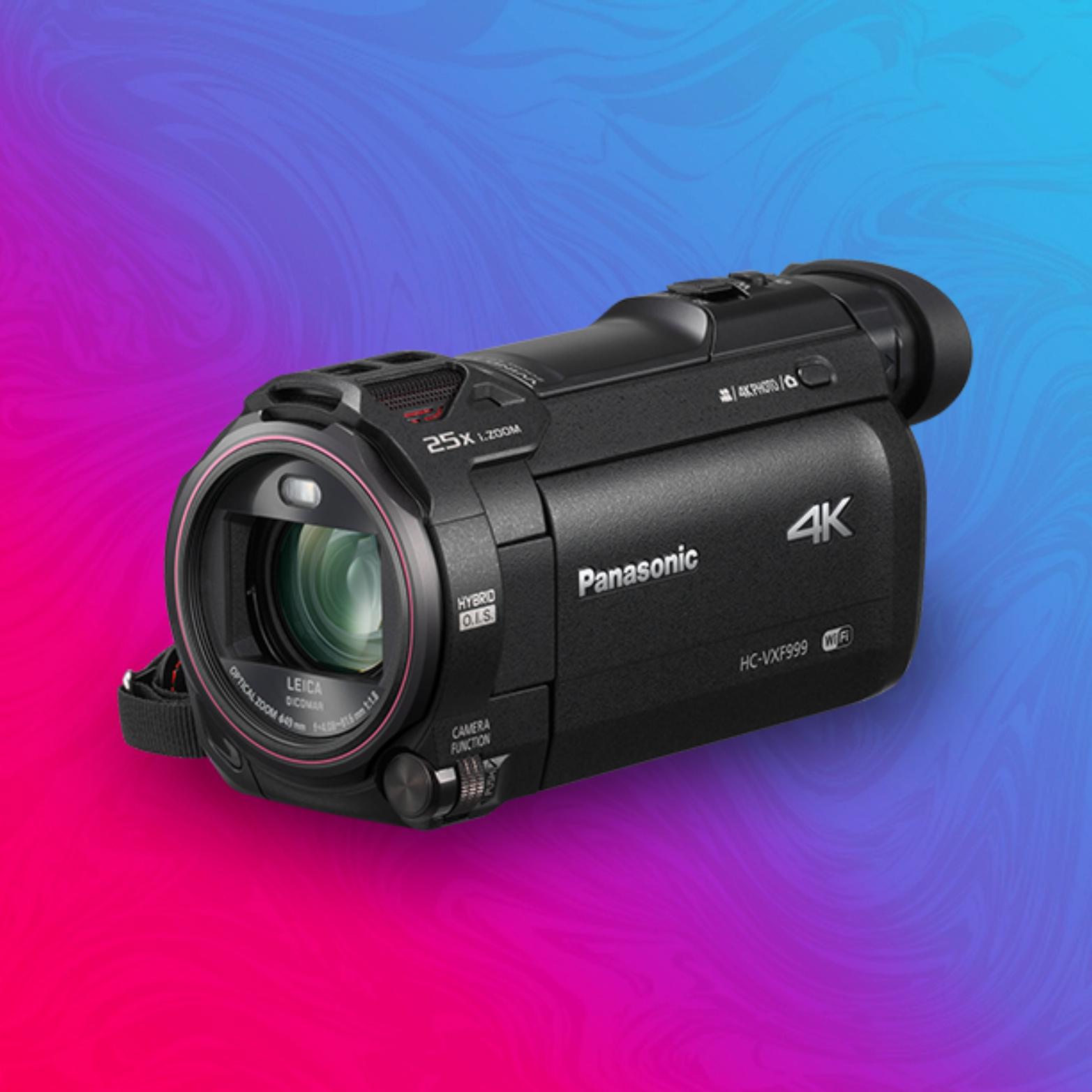 Panasonic HC-VXF999: 4K-Camcorder mit WiFi (Leica Dicomar Objektiv, 20x optischer Zoom, 4K Video)