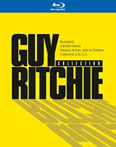 Guy Ritchie Collection (4-Film Set Blu-ray) für 9,52€ (Amazon Prime)