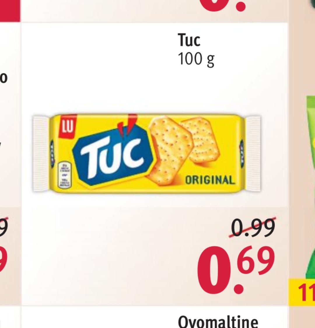 TUC Cracker 100g für 0,69€ mit App nur 0,62€ [Rossmann)
