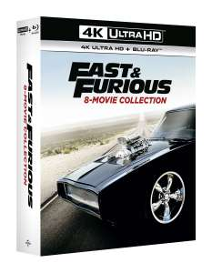 [Zoom.co.uk]Fast & Furious: 8 Movie Collection 4K Ultra HD Blu-ray im OT