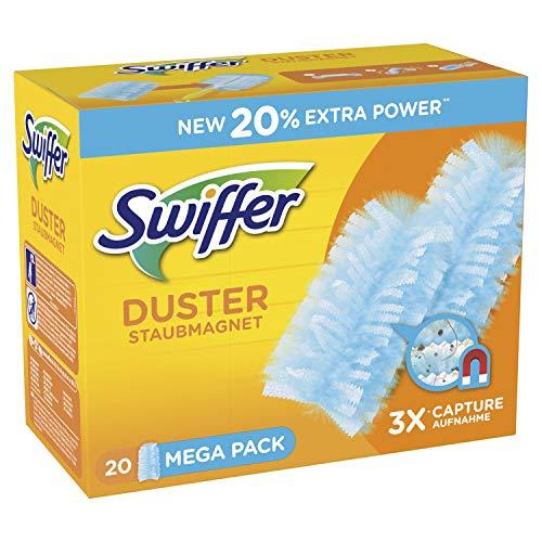 Swiffer Staubmagnet Tücher Nachfüllpackung 60 Stück (Amazon Spar-Abo)