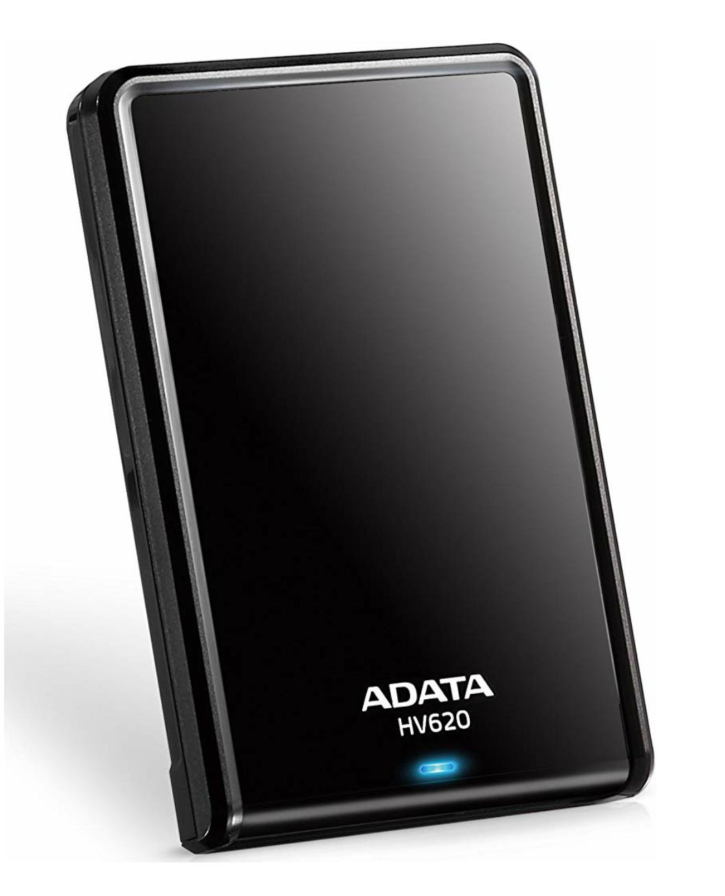 ADATA HV620 2TB USB 3.0 Externe Festplatte, schwarz
