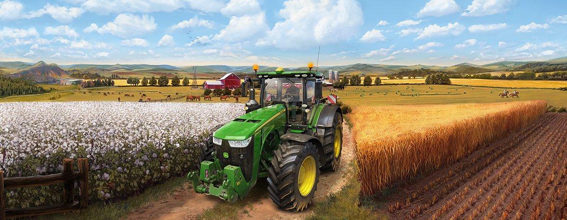 Farming Simulator 19 PC für 23,56€ oder Pre-Order Platinum Edition für 28,33€ (steam code)