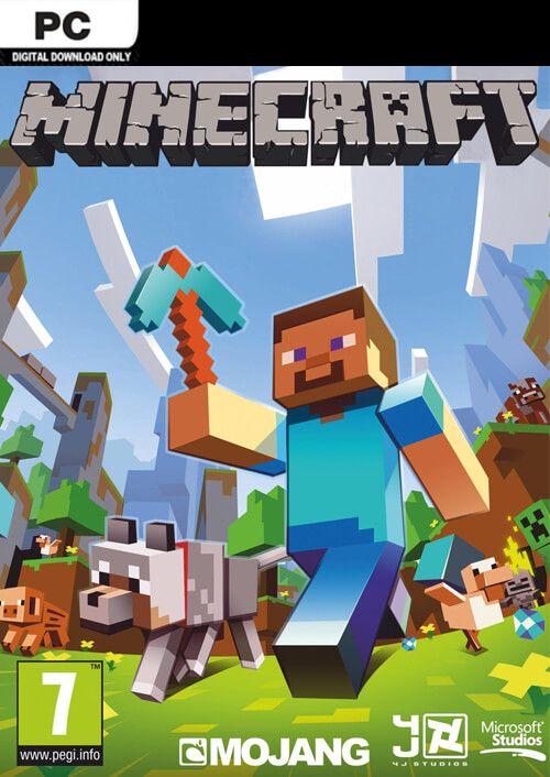 Minecraft (PC Java Edition) für 17,39€ (CDkeys)