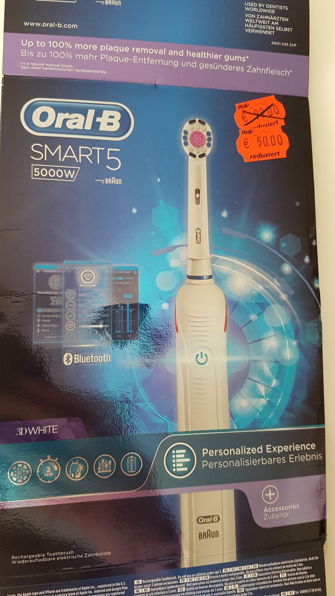 Oral B Smart 5000 & Smart 4000 (Real bundesweit) elektrische Zahnbürste