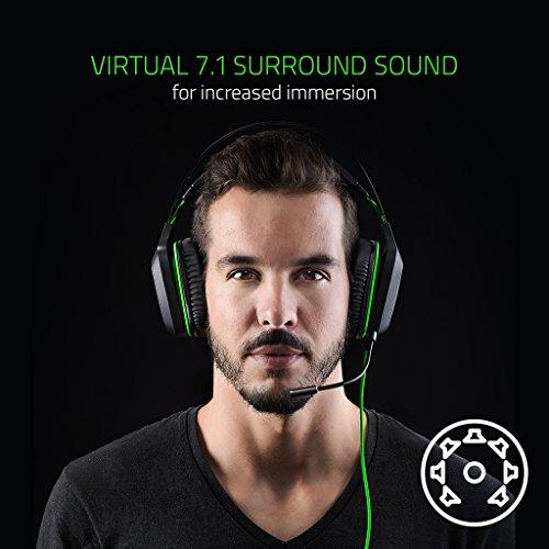 Razer Electra V2 USB - Digitales Gaming Headset (für Gamer und Musik, Individuell eingestellte 40 mm-Treiber