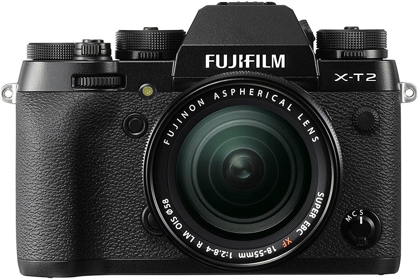 Fujifilm X-T2 Systemkamera inkl. Fujinon XF18-55F2,8-4 Objektiv