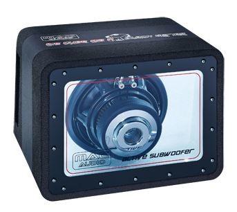 (Amazon) Mac Audio ICE CUBE 108 A BLACK SERIES Auto Subwoofer