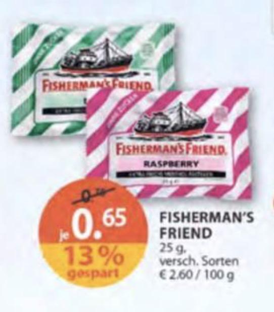[Müller] Fishermans Friend versch. Sorten 0,65€