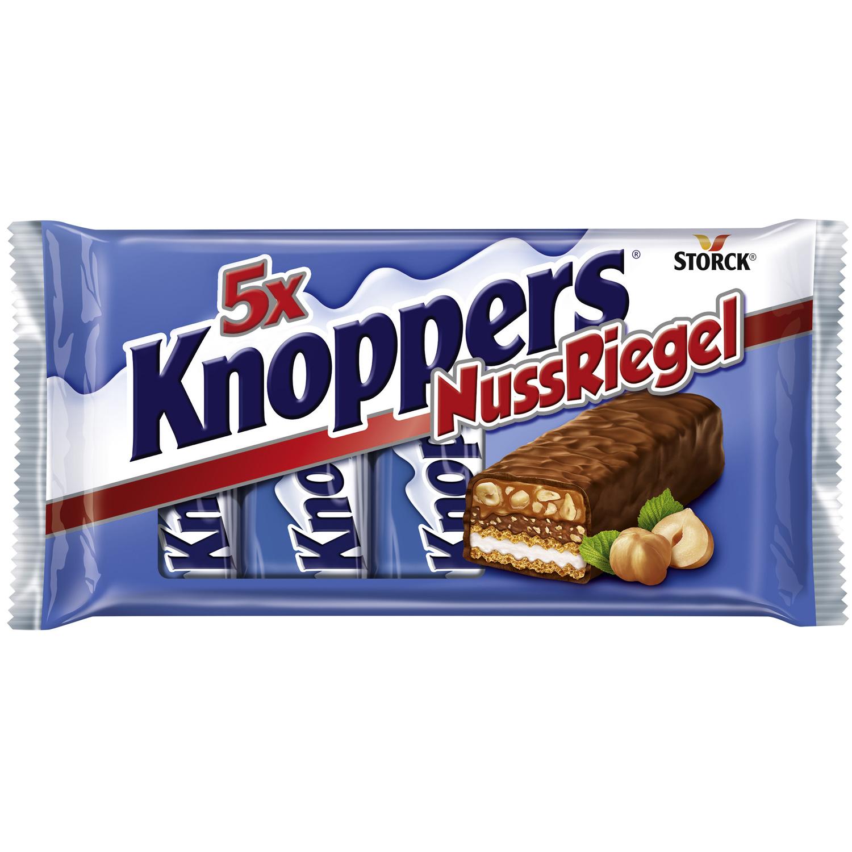 [Kaufland] Knoppers NussRiegel 200g-Packung 5 Stück für 1,49€