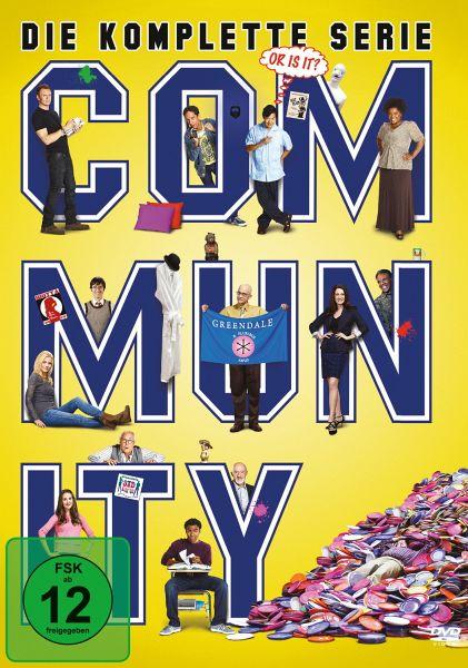 Community - Die komplette Serie (17 Discs DVD) für 22,97€ (Amazon Prime)