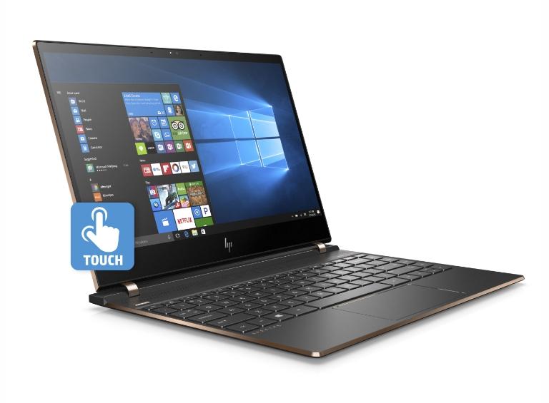 "HP Spectre 13-af000ng 13.3"" FHD IPS Touch glare, i5-8250U, 8GB RAM, 256GB PCIe SSD, bel. Tastatur, Alu, 2x Thunderbolt 3, Win10, 1.11kg"
