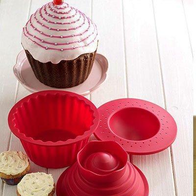 Silikon Backform für riesen Cupcake für 5,99 @Amazon