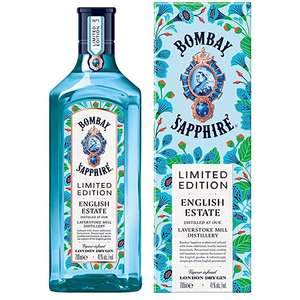 Bombay Sapphire London Dry Gin - English Estate Limited Edition- | 0,7l 41% | bei [Globus] ab 05.08.