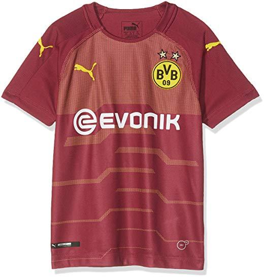 Puma BVB Borussia Dortmund Ausweichtrikot 18/19 für Kinder Gr. 128 - 176
